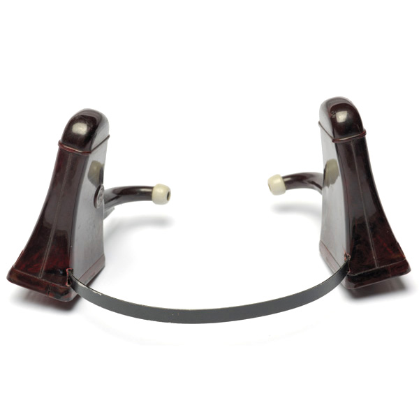 picture shows auricle ear trumpet @ EarTrumpets.co.uk